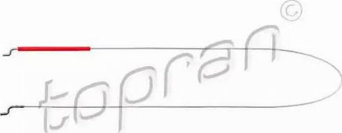 Topran 102923 - Trose, Sēdekļa atzveltnes regulēšana autodraugiem.lv