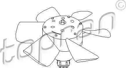 Topran 102548 - Ventilators, Motora dzesēšanas sistēma autodraugiem.lv