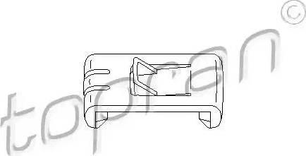 Topran 102673 - Regulēšanas elements, Sēdekļa regulēšana autodraugiem.lv