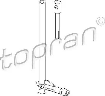 Topran 107178 - Ūdens sprausla, Stiklu tīrīšanas sistēma autodraugiem.lv
