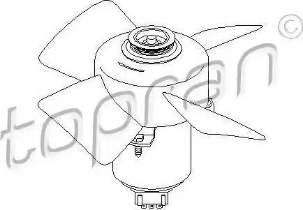 Topran 107708 - Ventilators, Motora dzesēšanas sistēma autodraugiem.lv