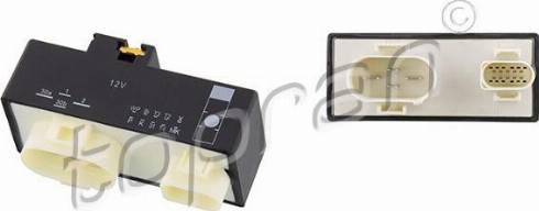 Topran 116620 - Vadības bloks, Elektroventilators (Motora dzesēšana) autodraugiem.lv
