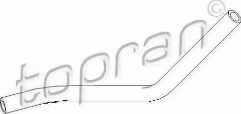 Topran 111980 - Hidrauliskā šļūtene, Stūres iekārta autodraugiem.lv