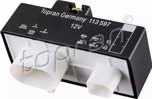 Topran 113597 - Relejs, Dzes. sist. radiatora ventilators autodraugiem.lv
