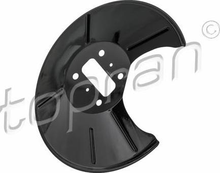 Topran 305 178 - Dubļu sargs, Bremžu disks autodraugiem.lv