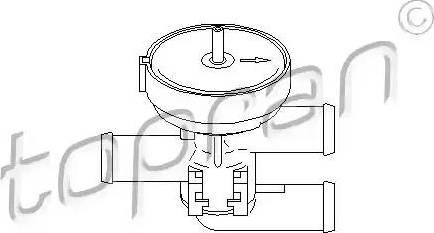 Topran 206241 - Dzesēšanas šķidruma regulēšanas vārsts autodraugiem.lv