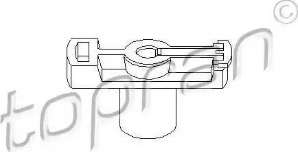 Topran 202016 - Aizdedzes sadalītāja rotors autodraugiem.lv