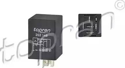 Topran 202146 - Relejs, Stiklu mazgāšanas sistēmas intervāls autodraugiem.lv