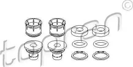 Topran 207905 - Remkomplekts, Pārslēdzējsvira autodraugiem.lv