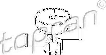 Topran 207465 - Dzesēšanas šķidruma regulēšanas vārsts autodraugiem.lv