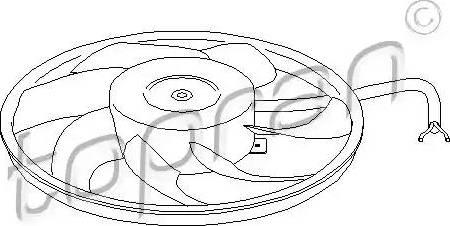 Topran 207 220 - Ventilators, Motora dzesēšanas sistēma autodraugiem.lv