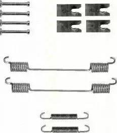 Triscan 8105 102601 - Piederumu komplekts, Bremžu loki autodraugiem.lv
