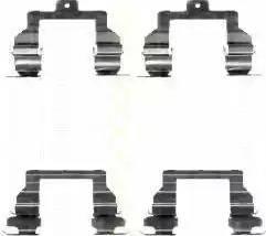 Triscan 8105 131632 - Piederumu komplekts, Disku bremžu uzlikas autodraugiem.lv