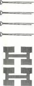 Triscan 8105 171002 - Piederumu komplekts, Disku bremžu uzlikas autodraugiem.lv