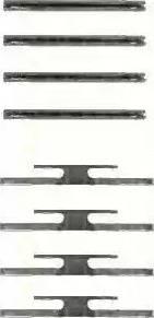 Triscan 8105 241510 - Piederumu komplekts, Disku bremžu uzlikas autodraugiem.lv