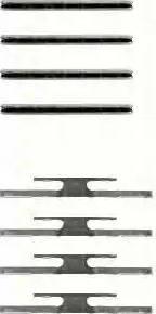 Triscan 8105 241309 - Piederumu komplekts, Disku bremžu uzlikas autodraugiem.lv