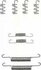 Triscan 8105 272577 - Piederumu komplekts, Stāvbremzes mehānisma bremžu loks autodraugiem.lv