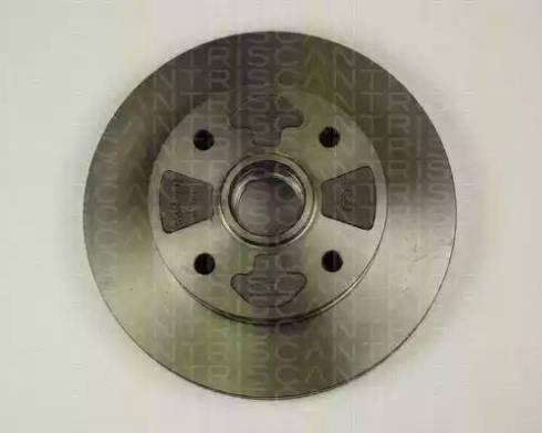 Triscan 8120 50123 - Bremžu diski autodraugiem.lv
