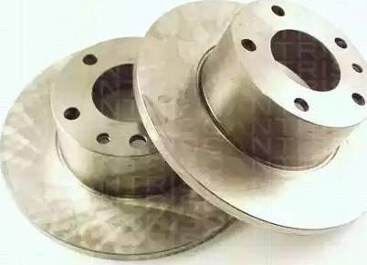 Triscan 8120 11107 - Bremžu diski autodraugiem.lv