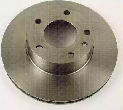 Triscan 8120 11125 - Bremžu diski autodraugiem.lv