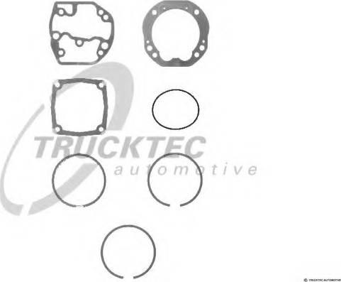 Trucktec Automotive 01.43.227 - Remkomplekts, Kompresors autodraugiem.lv