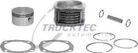 Trucktec Automotive 01.15.053 - Cilindra čaula, Gaisa kompresors autodraugiem.lv