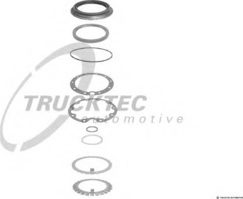 Trucktec Automotive 01.32.017 - Blīvju komplekts, Planetārais reduktors autodraugiem.lv