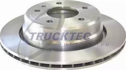 Trucktec Automotive 08.34.040 - Bremžu diski autodraugiem.lv