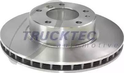 Trucktec Automotive 08.34.016 - Bremžu diski autodraugiem.lv