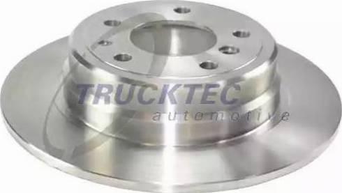 Trucktec Automotive 08.34.026 - Bremžu diski autodraugiem.lv
