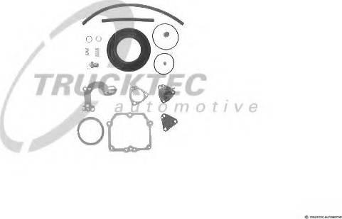 Trucktec Automotive 02.43.019 - Blīvju komplekts, Karburators autodraugiem.lv