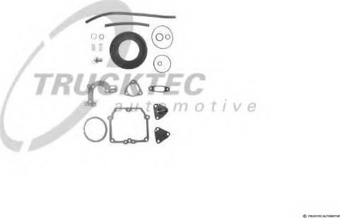 Trucktec Automotive 02.43.015 - Blīvju komplekts, Karburators autodraugiem.lv