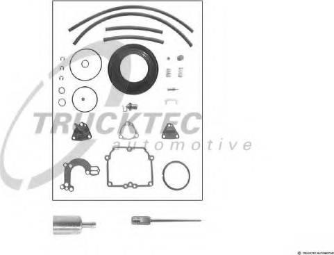 Trucktec Automotive 02.43.020 - Blīvju komplekts, Karburators autodraugiem.lv
