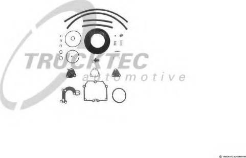 Trucktec Automotive 02.43.021 - Blīvju komplekts, Karburators autodraugiem.lv
