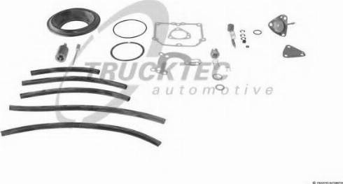 Trucktec Automotive 02.43.022 - Blīvju komplekts, Karburators autodraugiem.lv