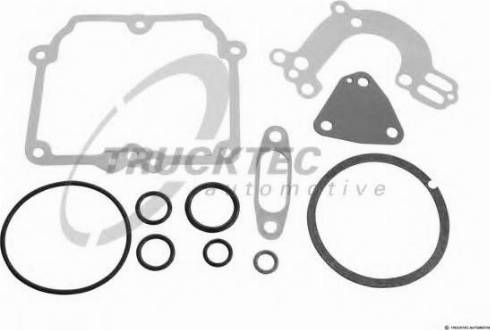 Trucktec Automotive 02.43.076 - Blīvju komplekts, Karburators autodraugiem.lv