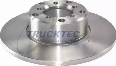 Trucktec Automotive 02.35.045 - Bremžu diski autodraugiem.lv