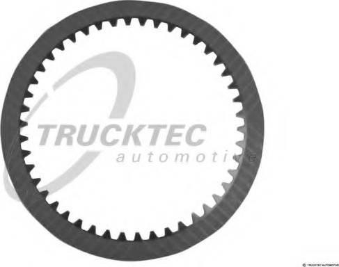 Trucktec Automotive 02.25.044 - Frikcijas disks, Automātiskā pārnesumkārba autodraugiem.lv