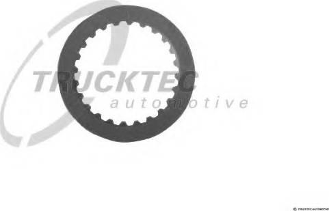 Trucktec Automotive 02.25.040 - Frikcijas disks, Automātiskā pārnesumkārba autodraugiem.lv