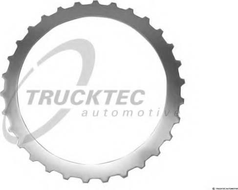 Trucktec Automotive 02.25.054 - Frikcijas disks, Automātiskā pārnesumkārba autodraugiem.lv