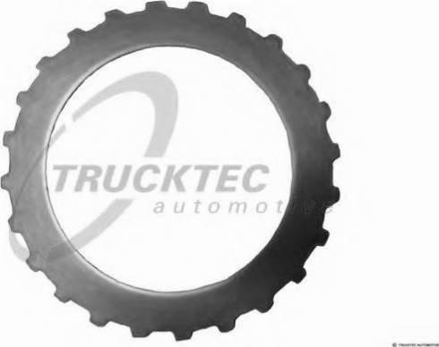 Trucktec Automotive 02.25.056 - Frikcijas disks, Automātiskā pārnesumkārba autodraugiem.lv