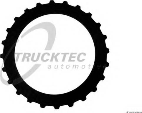 Trucktec Automotive 02.25.053 - Frikcijas disks, Automātiskā pārnesumkārba autodraugiem.lv