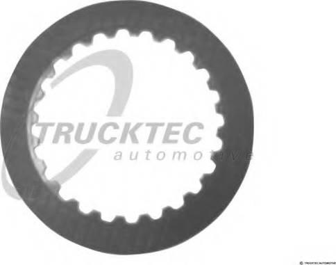 Trucktec Automotive 02.25.052 - Frikcijas disks, Automātiskā pārnesumkārba autodraugiem.lv