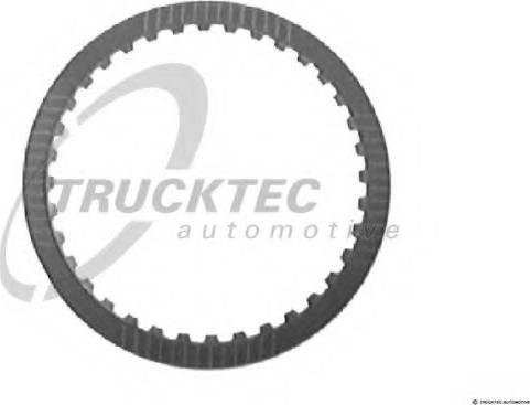Trucktec Automotive 02.25.009 - Frikcijas disks, Automātiskā pārnesumkārba autodraugiem.lv