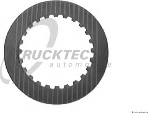Trucktec Automotive 02.25.008 - Frikcijas disks, Automātiskā pārnesumkārba autodraugiem.lv