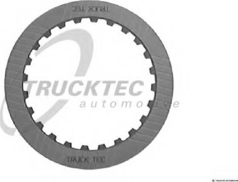 Trucktec Automotive 02.25.010 - Frikcijas disks, Automātiskā pārnesumkārba autodraugiem.lv