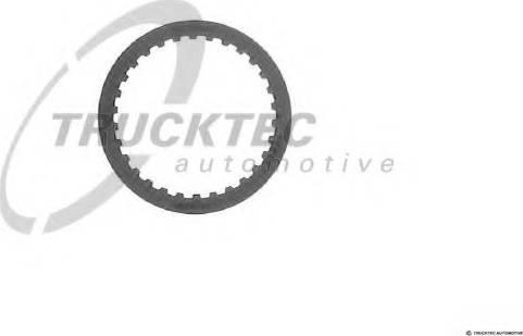 Trucktec Automotive 02.25.011 - Frikcijas disks, Automātiskā pārnesumkārba autodraugiem.lv