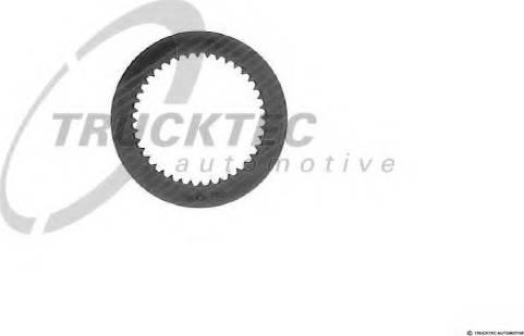 Trucktec Automotive 02.25.012 - Frikcijas disks, Automātiskā pārnesumkārba autodraugiem.lv