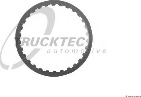 Trucktec Automotive 02.25.028 - Frikcijas disks, Automātiskā pārnesumkārba autodraugiem.lv