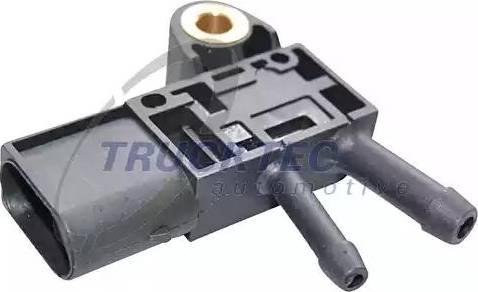 Trucktec Automotive 07.17.054 - Devējs, Izplūdes gāzu spiediens autodraugiem.lv